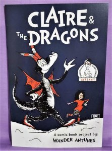 ComicTom101 CLAIRE & THE DRAGONS #1 Nate Johnson Dr Seuss Cover (Scout, 2021)!