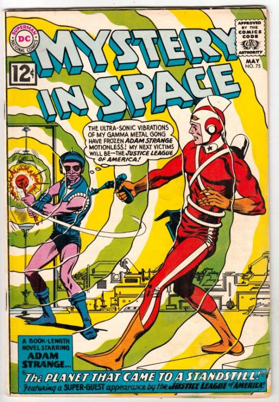 Mystery in Space #75 (May-62) FN+ Mid-High-Grade Adam Strange