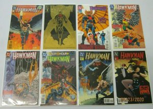 Hawkman lot from:#0-33 + Annual 3rd Series all 26 different avg 8.0 VF (1993-96)