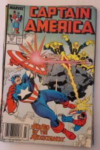 Captain America 343 VF