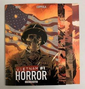 Vietnam Horror #1-4 Set (Behemoth 2021) 1 2 3 4 Massimo Rosi (8.5+)