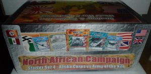 Battlecards World Conflict North African Campaign 4 Starter Sets NEW BOX SEALED