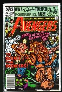 The Avengers #216 (1982)