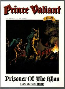 Prince Valiant #21 1990-Fantagraphics-color reprint-Hal Foster-Khan Prisoner-VF