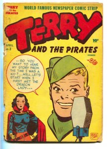 Terry and the Pirates #3 1st appearance DRAGON LADY-Jack Kirby