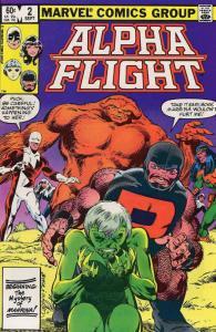 Alpha Flight (1st Series) #2 FN; Marvel | save on shipping - details inside