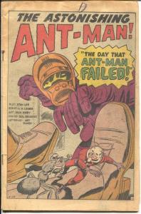 Tales To Astonish #40 1962-Marvel-Ant-Man-Jack Kirby-Ditko-Don Heck-P