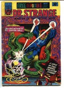 Doctor Strange #1-comic book-Rare AUSTRALIAN edition 1975