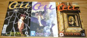 Cell #1-3 VF/NM complete series 1996 ANTARCTIC PRESS derek kirk comics 2 set