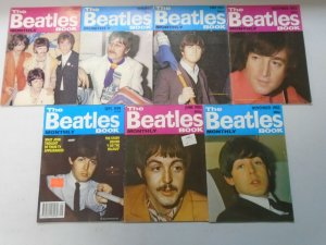 The Beatles Book Monthly magazine lot 7 different issues (1982-99)