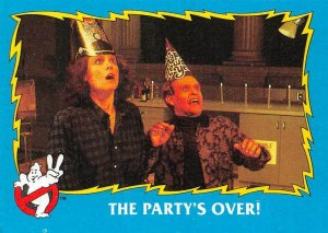 1989 Topps Ghostbusters #75 The Party's Over!