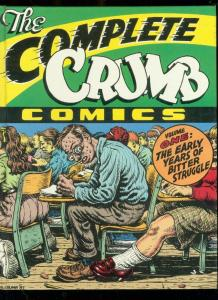 Complete Crumb Volume 1 Hardcover Signed by Robert Crumb