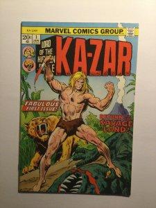 Ka-Zar 1 Very fine vf 8.0 Marvel