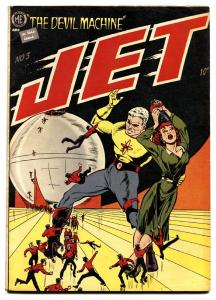 JET POWERS #3-1951-BOB POWELL COVER AND STORIES-AL WILLIAMSON ART-SPICY VIXENS