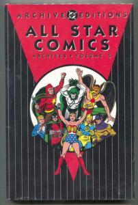 All Star Comics Archives Vol 5 -Color Reprints-Hardcover