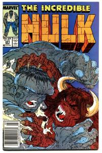 INCREDIBLE HULK #341-HULK-MCFARLANE-VF/NM Newsstand
