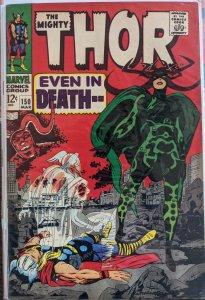 Thor #150 (1968) ORIGIN OF TRITON LEE!!!