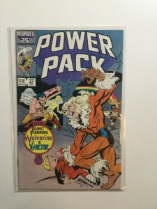 Power Pack 27 Near Mint Nm Marvel