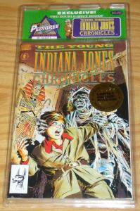 Treat Pedigree Collection: Young Indiana Jones Chronicles VF/NM limited edition