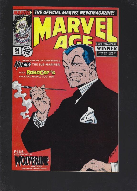 Marvel Age #84 (1990)