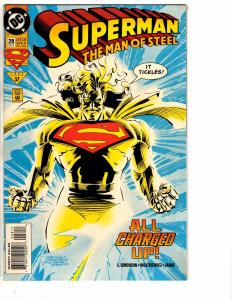 9 Superman Man Of Steel DC Comics # 28 29 31 32 33 34 35 36 37 Batman Flash J214