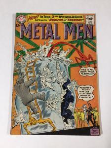 Metal Men 2 4.0 Vg Very Good Water Damage Bottom Staple Detached Dc Silver Age