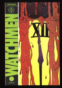 Watchmen #12 VF+ 8.5 Death Of Rorschach!