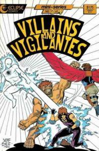 Villains & Vigilantes #2 FN; Eclipse | save on shipping - details inside