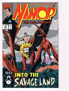 Namor The Sub-Mariner # 15 Marvel Comic Books Awesome Issue Modern Age WOW!! S48