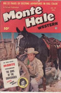 MONTE HALE WESTERN #59 GABBY HAYES- PHOTO COVER 1951 VG/FN