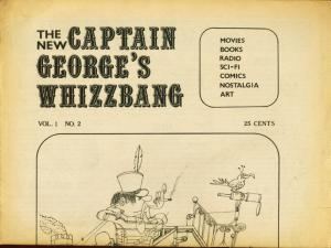 CAPTAIN GEORGES WHIZBANG #2-TARZAN-BONNIE AND CLYDE VG/FN