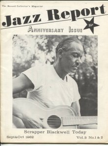 Jazz Report Vol 3 #1 & 2 9/1962-jazz and music collectors info-buy/sell ads-FN