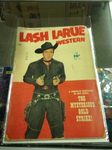 Lash LaRue Western 13 Good (Fawcett Feb. 1951) Golden Age Western
