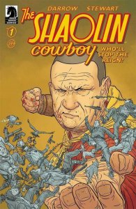 SHAOLIN COWBOY #1, VF/NM, Who'll stop the Reign, Geof Darrow, Dave Stewart, 2017