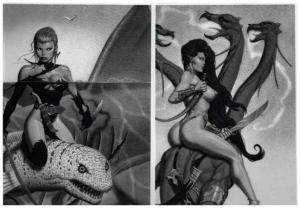 PETZ II FANGS&FEMALES FASTNER&LARSON 1995 PORTFOLIO