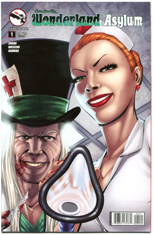 GRIMM FAIRY TALES WONDERLAND Asylum #1 B, NM, Eric J, 2014, more GFT in store