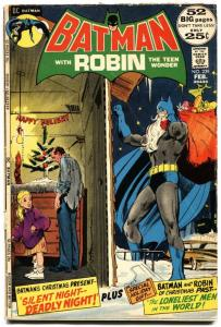 BATMAN #239-1972-NEAL ADAMS-HIGH GRADE-X-MAS-vg