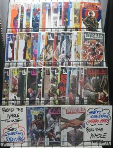 INVISIBLES COLLECTION! 39 issues VOL.1 #1-17, VOL. 2 #1-22 COMPLETE! Morrison