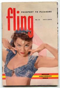 Fling Digest #14 1959- Russ Meyer- June Wilkinson