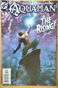 Aquaman #3 (2003) The Rising ! Great Cover !