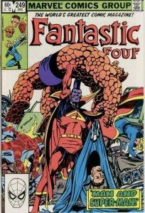 Fantastic Four #249 (1982)