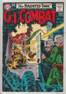 G.I. Combat #102 (Nov-63) VG+ Mid-Grade The Haunted Tank