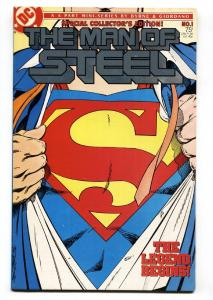 MAN OF STEEL #1-FIRST ISSUE-DC comic book 1986