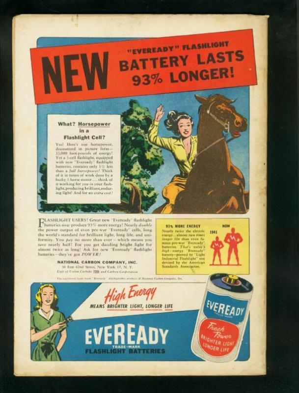 CAPTAIN MARVEL ADVENTURES #71-1947-WHEEL OF DEATH-RARE VF-