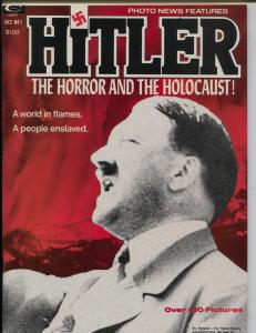 Hitler; The Horror and The Holocaust! #1 1974-Marvel-WWII-violent pix-VF