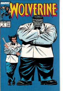 WOLVERINE #8 NEAR MINT $15.00