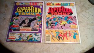 SUPER-TEAM FAMILY GIANT #4 (May 1976)  #6 (Sept. 1976) in GD/VG 3.0  Condition