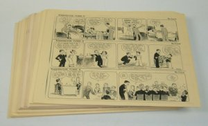 Washington Tubbs II by Crane newspaper strip reproductions - 155 pages