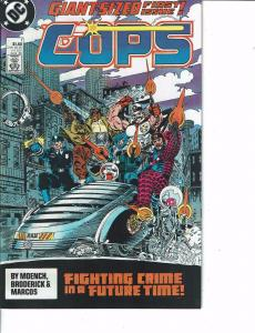 Lot Of 2 Comic Books DC Cops #1 and Superman & Amethyst #63 ON7