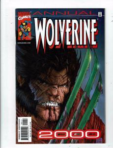 Lot of 2 Wolverine Annual Marvel Comic Books #'00 '01 MS16